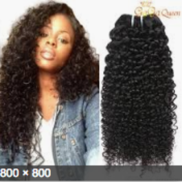 Wig, Kinky Curl, Colour #1, - 22