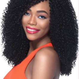 Wig, Jerry Curl, Colour #1, - 18