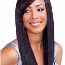 Wig, Straight, Colour #1, 28